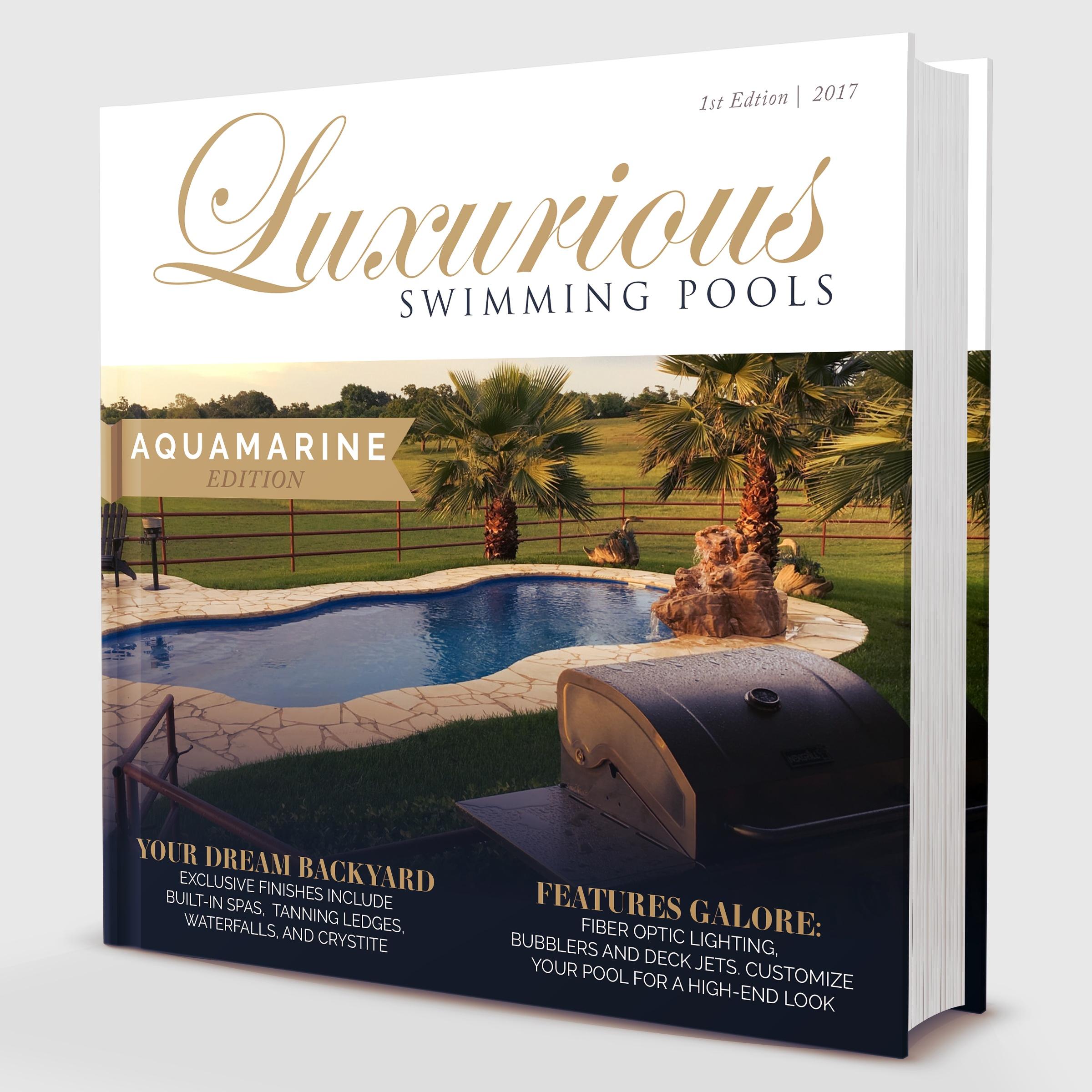 Limited Edition Aquamarine Pools of Houston Dreambook