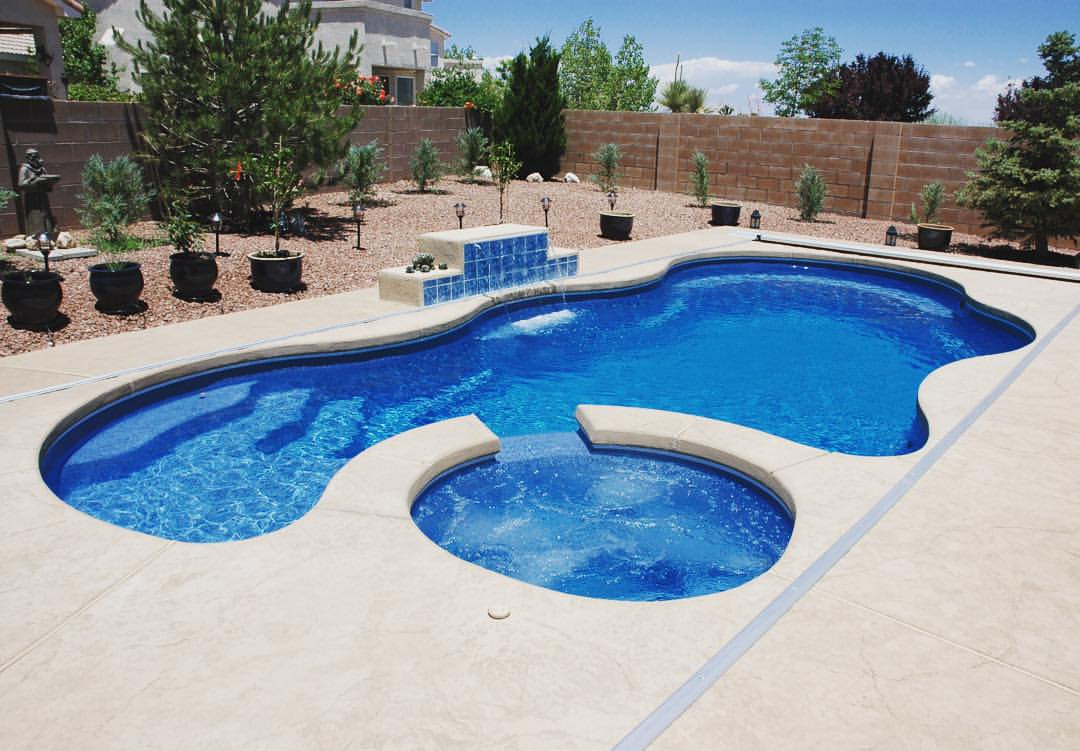 Benefits of pool installation during new home build - Latham Pool